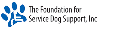 Foundation for Service Dog Support Dog Training Badge